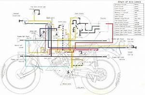 Yamaha  At1 125  Enduro Motorcycle Wiring Schematics    Diagram