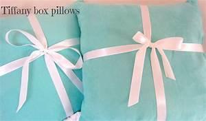 Tiffany box pillows - My Green GypsyMy Green Gypsy