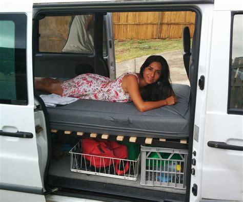 Camper Van Collapsible Bed