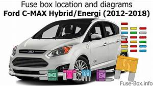 Fuse Box Location And Diagrams  Ford C Energi