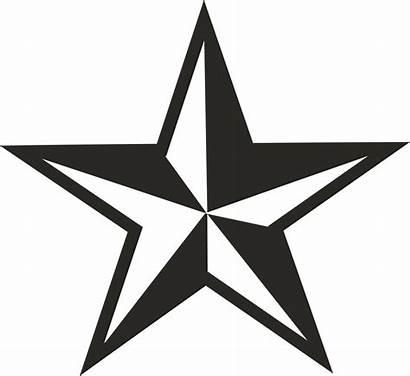 Star Clipart Clip Vector Nautical Cliparts Library