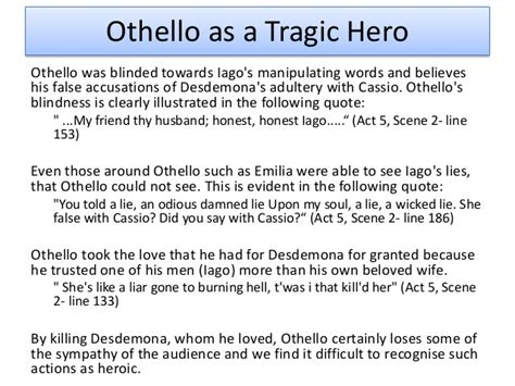 othello tragic hero essay conclusion examples