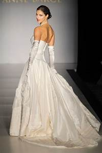 regal duchess satin strapless bridal ball gown with With wedding dress with gloves