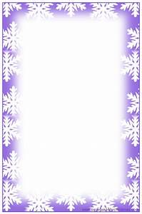 Snowflake Borders For Letters | www.imgkid.com - The Image ...