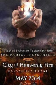Anticipation for the new Mortal Instruments book, City of ...