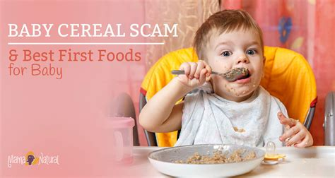 The Truth About Baby Cereal And What To Feed Instead