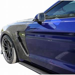 2015-2017 Ford Mustang GT350 Style Carbon Fiber Front Fenders