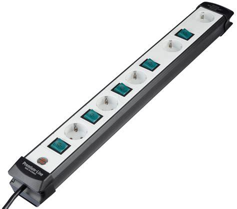 steckdosenleiste einzeln schaltbar pl 5 fach ein 5 fach steckdosenleiste einzeln schaltbar bei reichelt elektronik