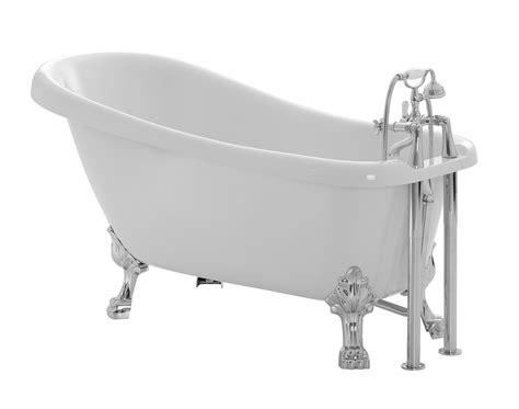 Bath : Cooke & Lewis Duchess Acrylic Keyhole Freestanding Bath (l
