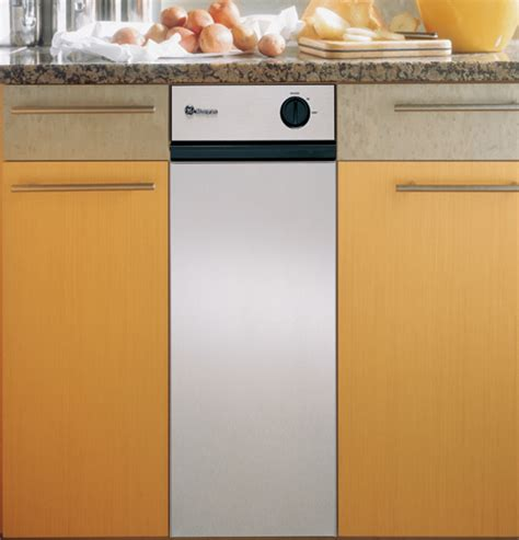zcgdss ge monogram  stainless steel built  compactor monogram appliances