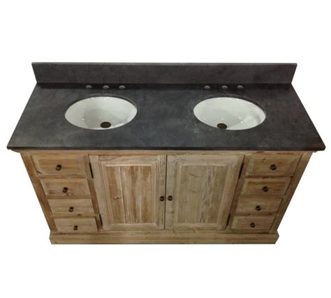 60 inch double sink vanity top 60 inch rustic double sink bathroom vanity wk1860 marble top