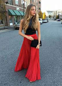 Disco Outfit 2017 : 17 most beautiful red skirt outfits images sheideas ~ Frokenaadalensverden.com Haus und Dekorationen