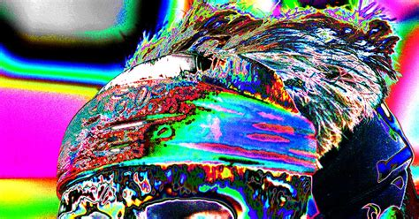 mark fisher american photographer color   skull