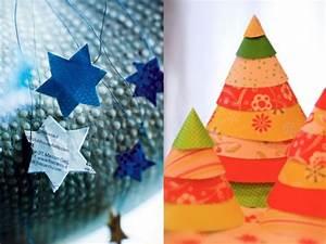 Deco Noel En Papier : decoration de noel sapin en papier ~ Melissatoandfro.com Idées de Décoration