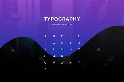 Typography Type Break Choose Medium Choosing Process