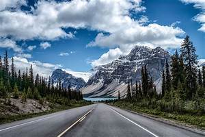 Road, Mountains, Landscape, Trees, Wallpapers, Hd, Desktop, And, Mobile, Backgrounds