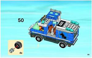 LEGO Police Dog Van Instructions 4441, City