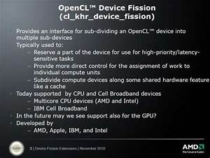 Amd Opencl Presentations  Sph And Device Fission