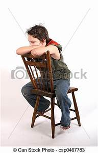 Stock Photos of time out - sitting backwards on a time out ...