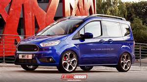 X-Tomi Design: Ford Transit Courier ST