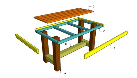 kitchen table bench plans free kitchen table plans woodworking free woodideas