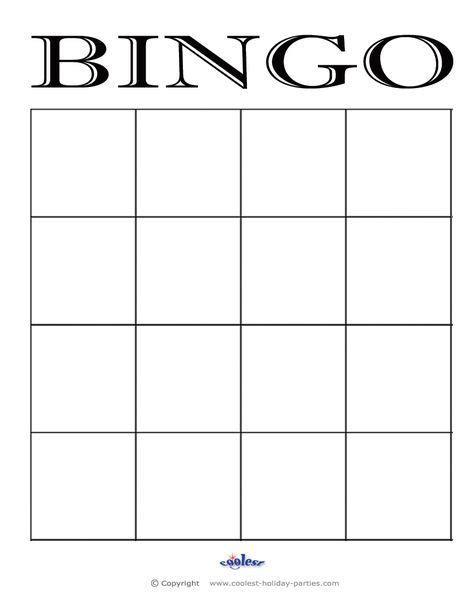 bingo cards google search bingo card template
