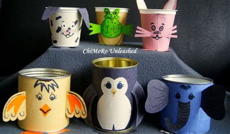recycled tin  craft ideas hative