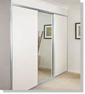 Sliding Wardrobe Doors - Colour Melamine FlexiRobes