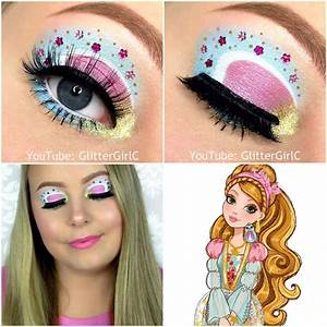 Ever After High Ashlynn Ella makeup | GlitterGirlC
