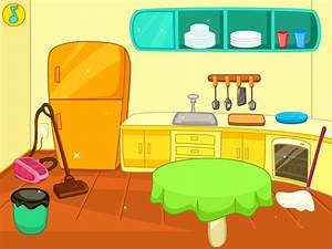 Furniture clipart clean room - Pencil and in color ...