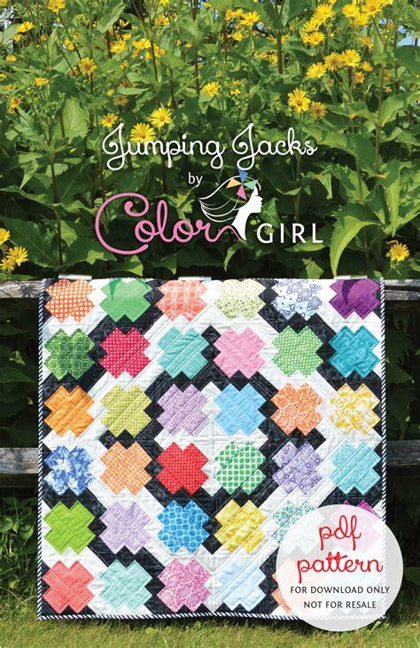 scrap quilt patterns new pattern quot jumping jacks quot scrap quilt color