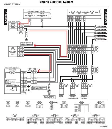 2004 Subaru Legacy Electrical Diagram by 2004 Subaru Impreza Wrx Engine Diagram Wiring Diagram