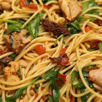 Chicken Spaghetti Spinach Recipes Pasta Recipe Healthy