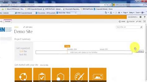 How To Modify The Top Link Bar (sharepoint 2013) Youtube