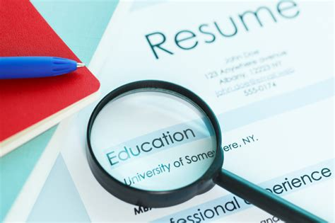 tips  writing  resumes education section monstercom