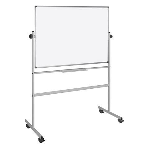 achat fourniture bureau bi office tableau blanc pivotant laqué 150 x 120 cm