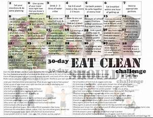 30 Day Eat Clean Challenge - Jodi Higgs FB | Exercise ...