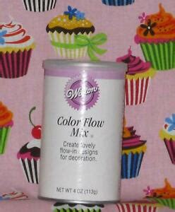 color flow icing color flow mix wilton run in icing 4 oz 701 47 cookie