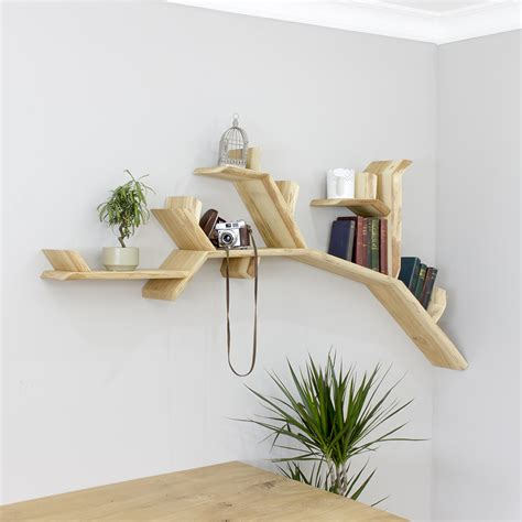 The Oak Branch Shelf Tree Branch Shelves By Bespoak