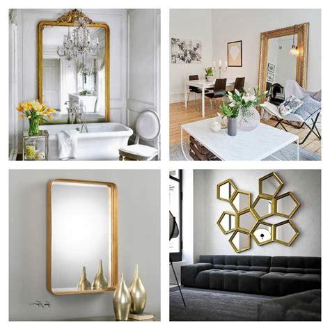 Grand miroir doré : idées pour une décoration intérieur réussie