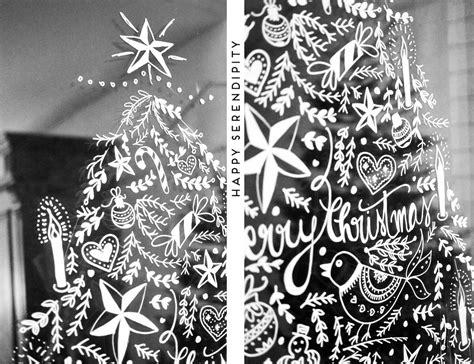 {diy} Opulente Weihnachtliche Fensterdeko Mit Kreidemarker