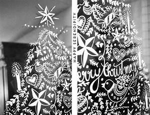 Fenster Bemalen Weihnachten : diy opulente weihnachtliche fensterdeko mit kreidemarker happy serendipity ~ Watch28wear.com Haus und Dekorationen