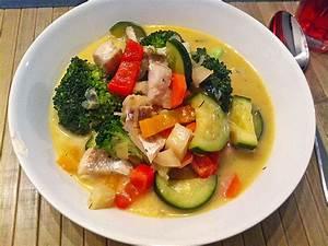 Schnelle Low Carb Gerichte : fisch gem se pfanne mit kokosmilch low carb rezept mit bild ~ Frokenaadalensverden.com Haus und Dekorationen
