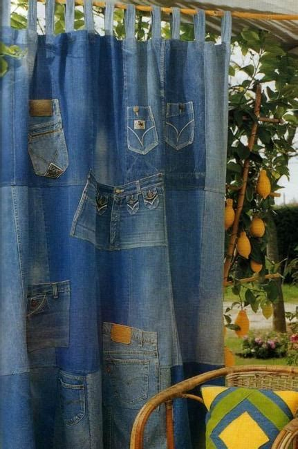 recycled crafts turning jeans  labels  unique home