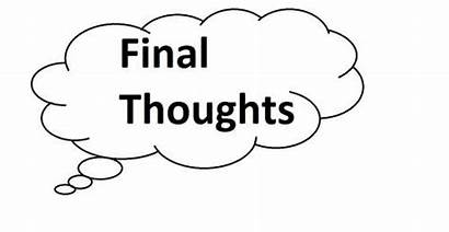 Thoughts Final Last Mark