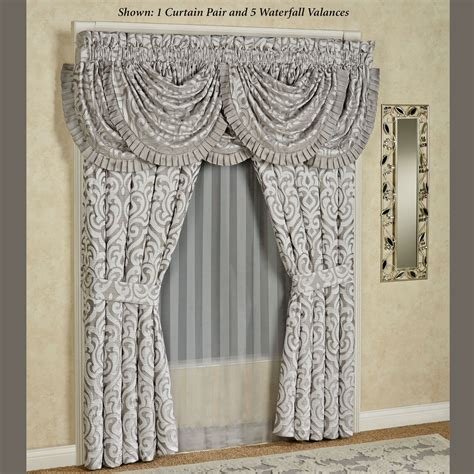 J New York Curtains by Babylon Scroll Window Treatment By J New York