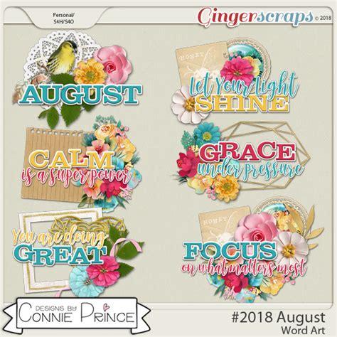 GingerScraps :: Word Art :: #2018 August - Word Art Pack ...