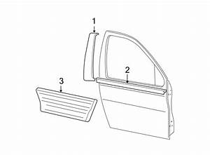 Ford Expedition Door Window Belt Weatherstrip
