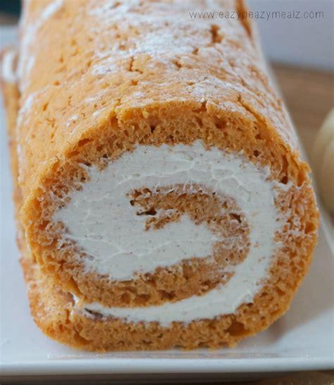 pumpkin cake roll pumpkin cake roll eazy peazy mealz