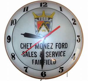 Ford ClocksThe Ford Collector